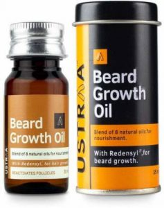 Ustra Beard Growing oil. Best Beard Growing Oil