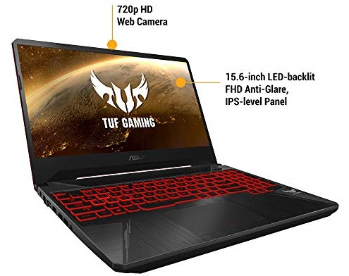 ASUS TUF Best Gaming Laptop Under 50000