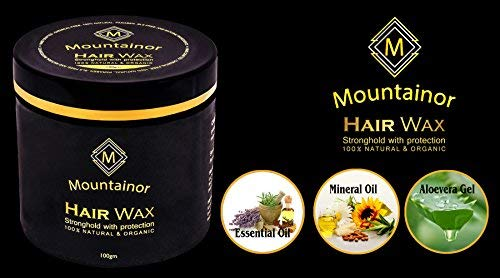 Mountainor Hair Wax . Best Hair wax in India