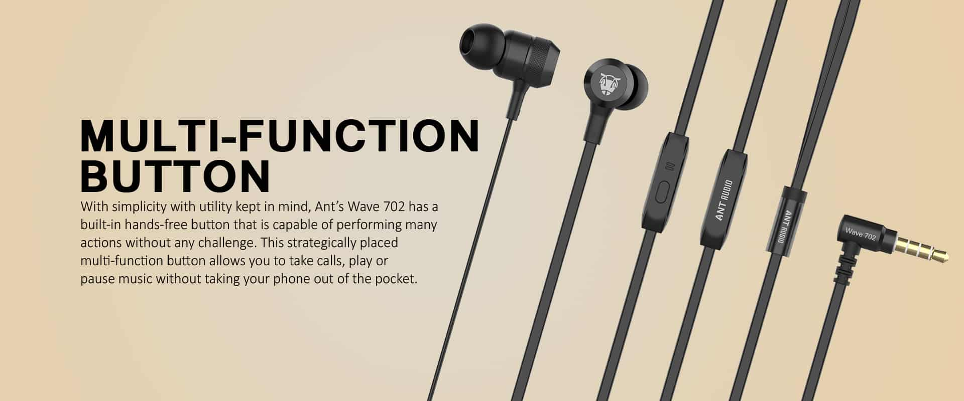 Ant Audio Wave 702 | Best Earphones Under 500