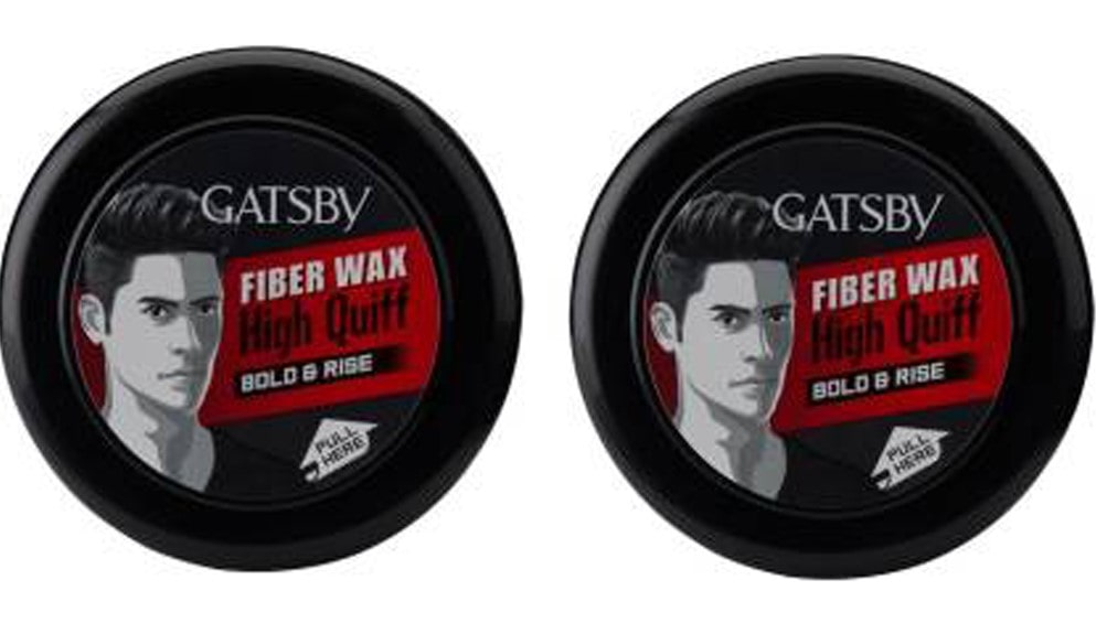 Gatsby Hair Styling Fibre Wax Bold and Rise Best Hair Wax in India