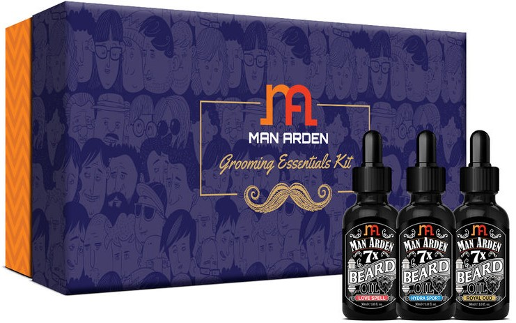 Men Arden Best Beard Growth oils in India. Best Beard Growing Oil