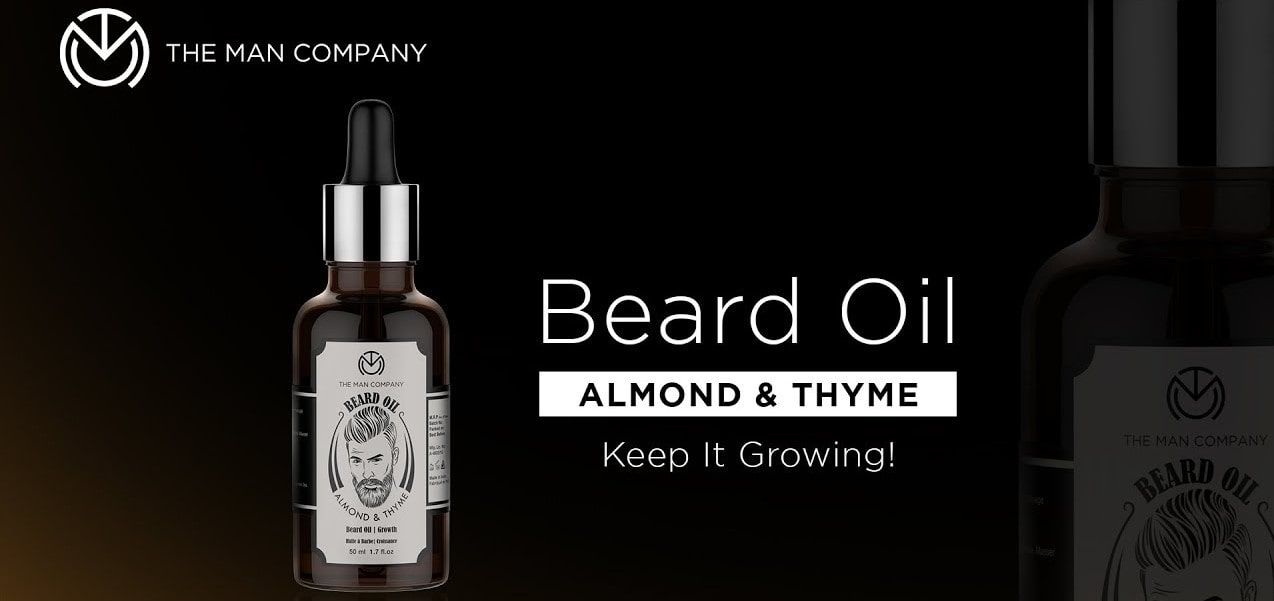 The Man Company Beard growth oil Best Beard Growing Oil
