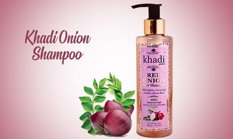 Khadi-Global-Red-Onion-Shampoo | Best Hair Fall Control Shampoo