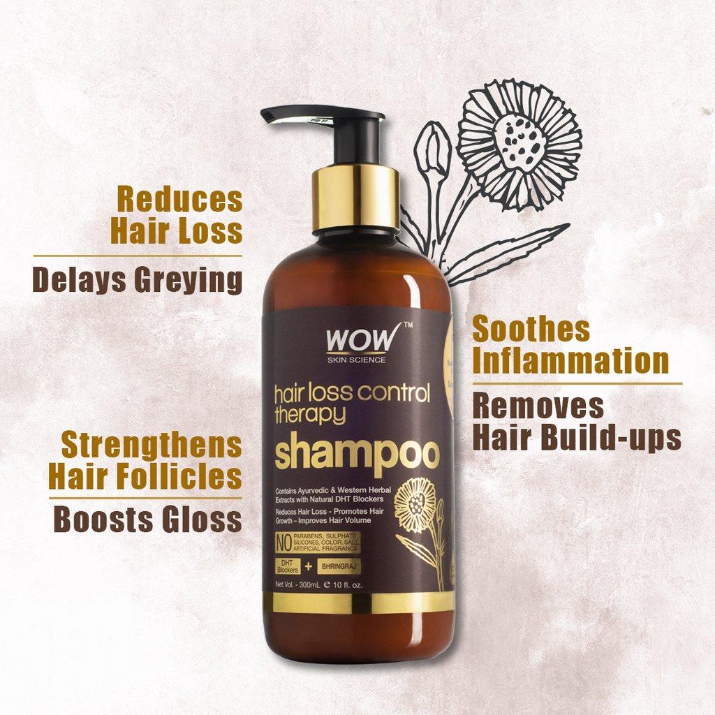 Wow Shampoo | Best Hair Fall Control Shampoo