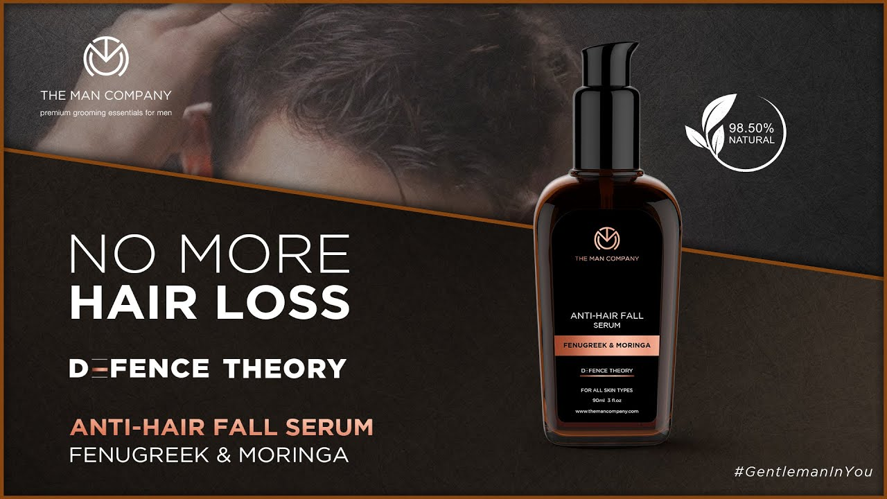 The Man Company Hair Serum  | Best Hair Serum for Men