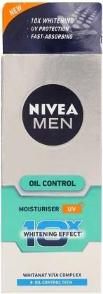Nivea Men Oil Control Moisturiser | Best Summer Cream for Oily Skin