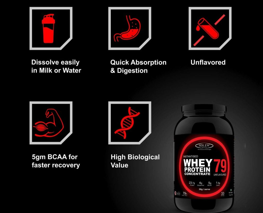 Sinew Whey Protein | Best Whey Protein in India