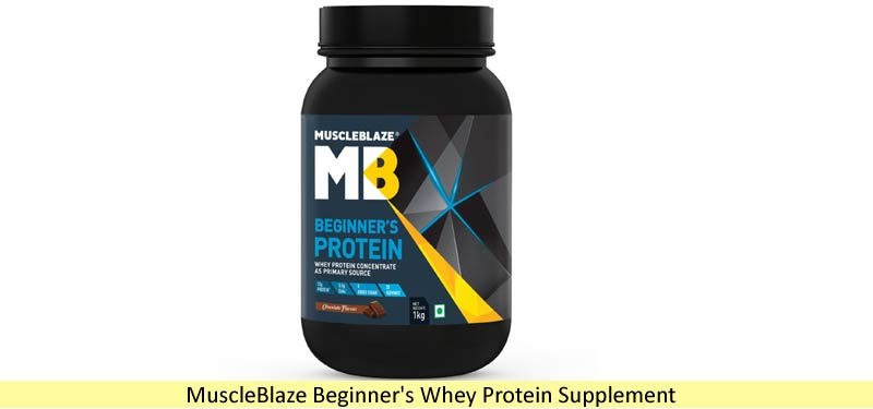 Muscleblaze Beginners Whey | Best Whey Protein in India
