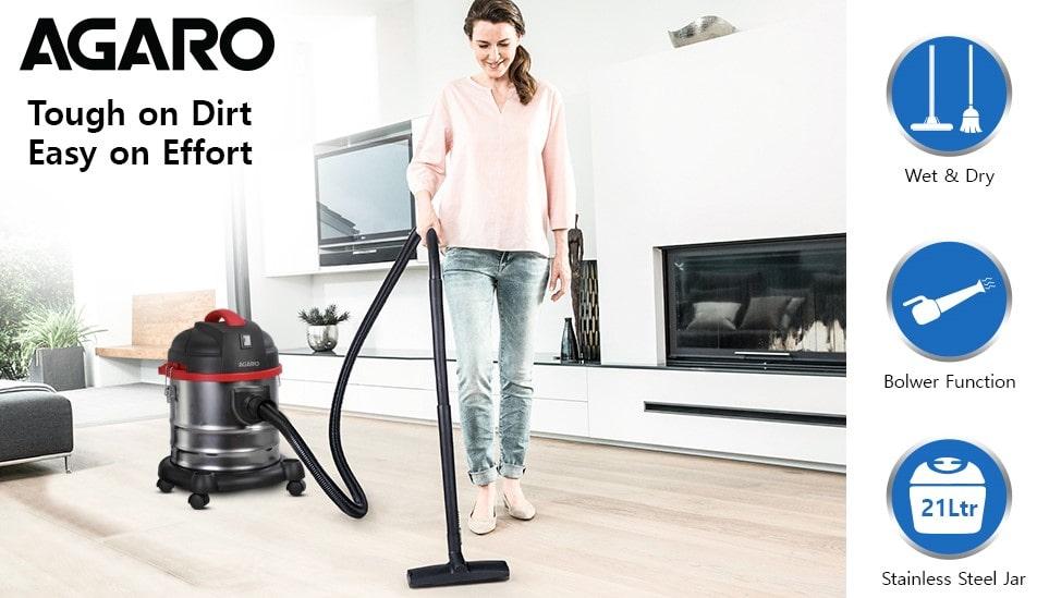 Agaro ACE Wet & Dry Vacuum Cleaner | Best Vacuum Cleaner in India