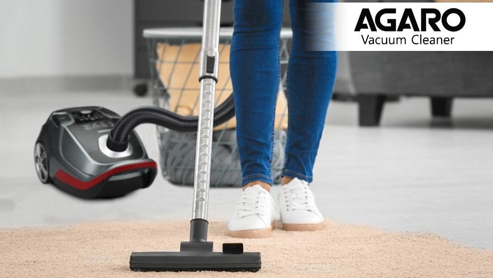 Agaro TWISTER Dry Vacuum Cleaner  (Black)| Best Vacuum Cleaner in India