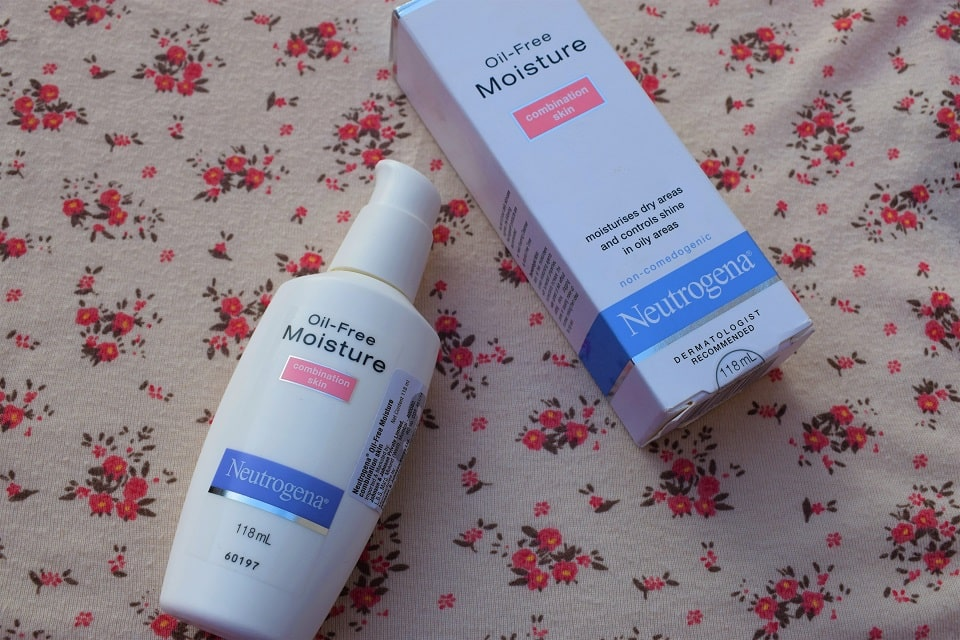 neutrogena oil free moisturiser | Best Summer Cream for Oily Skin