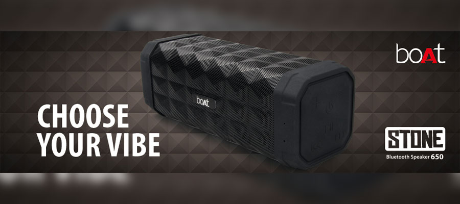 boAt Stone 650 | Best Bluetooth Speakers Under 2000
