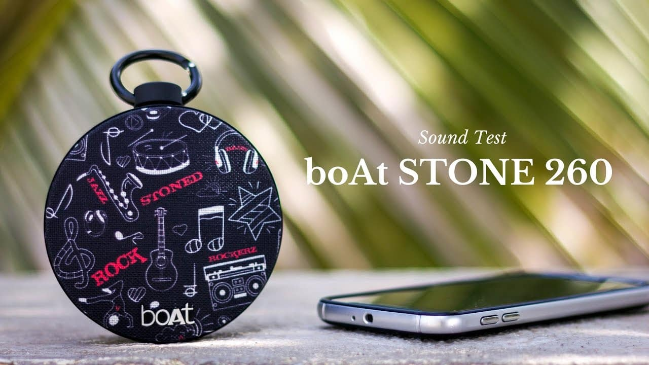 boAt Stone 260 | Best Bluetooth Speakers Under 2000