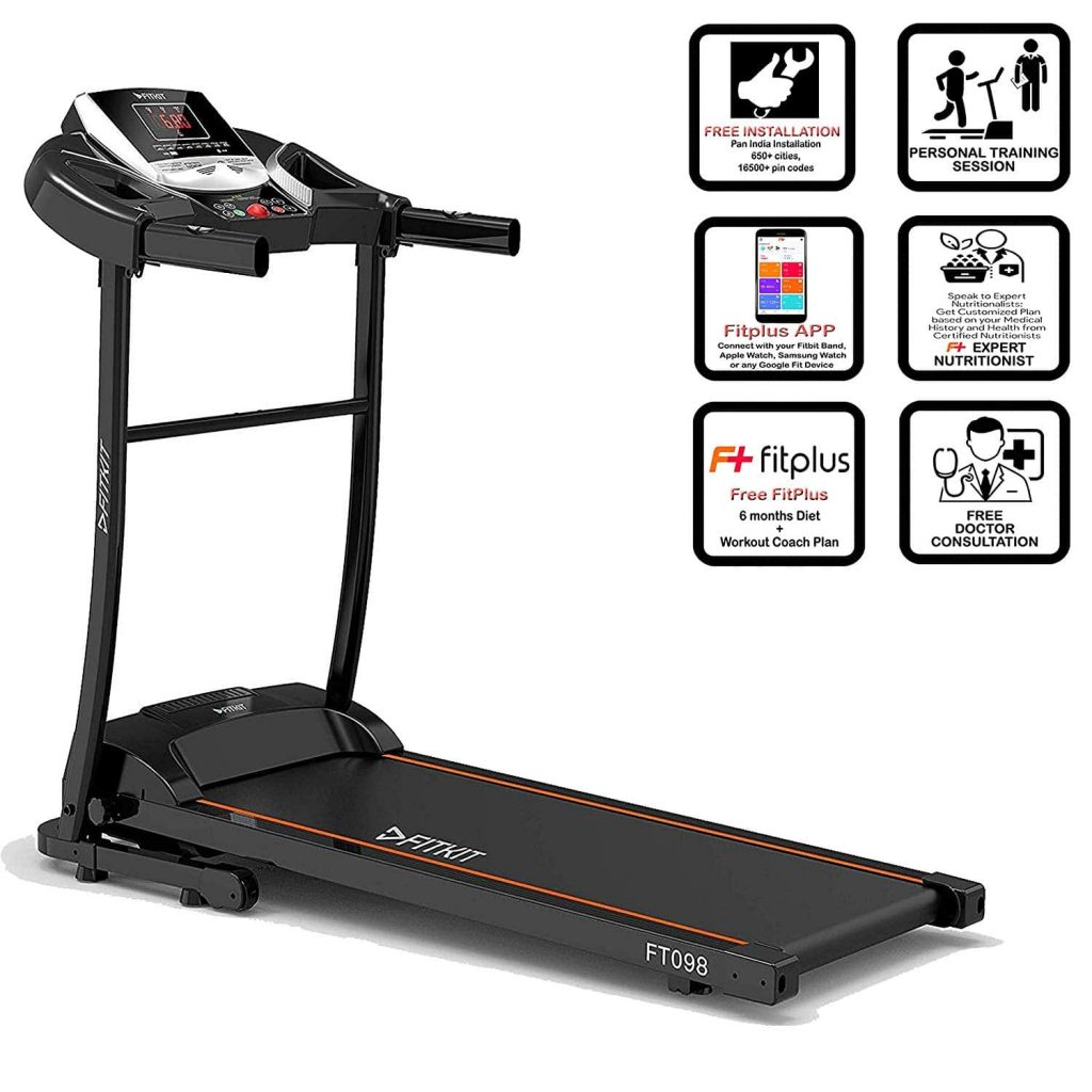 Fitkit FT098 | Best Treadmills in India