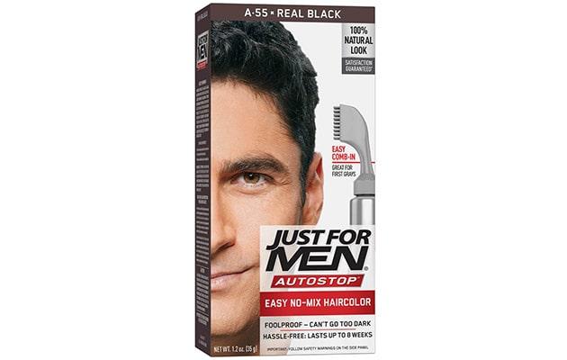 JUST FOR MEN Autostop Hair Color Real Black  | Best Hair Color for Men