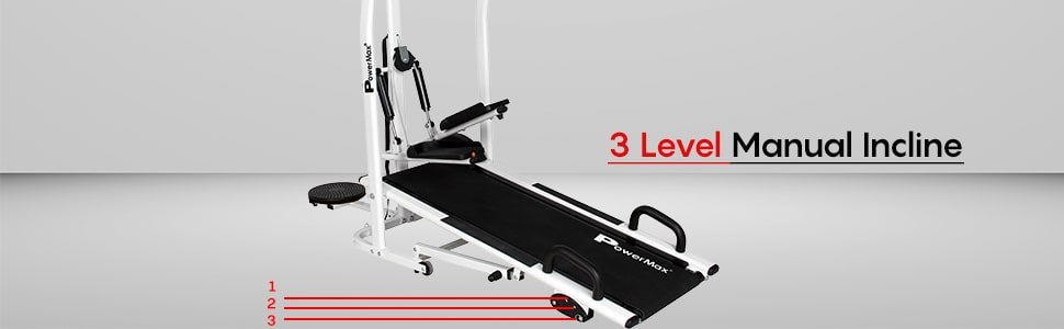 PowerMax Fitness MFT-410 | Best Treadmills in India