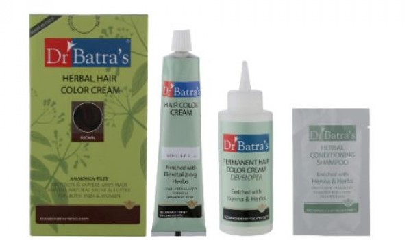Dr Batra's Herbal Hair Color Cream | Best Hair Color for Men