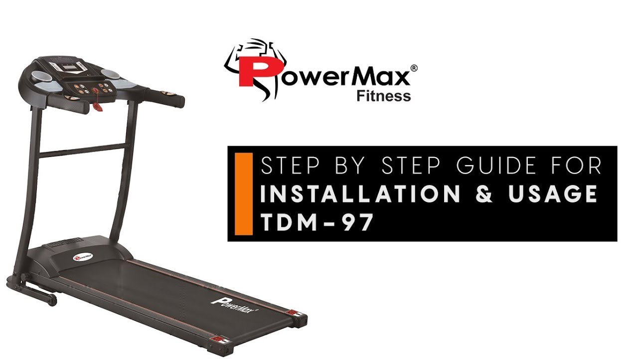 PowerMax Fitness TDM-98 | Best Treadmills in India