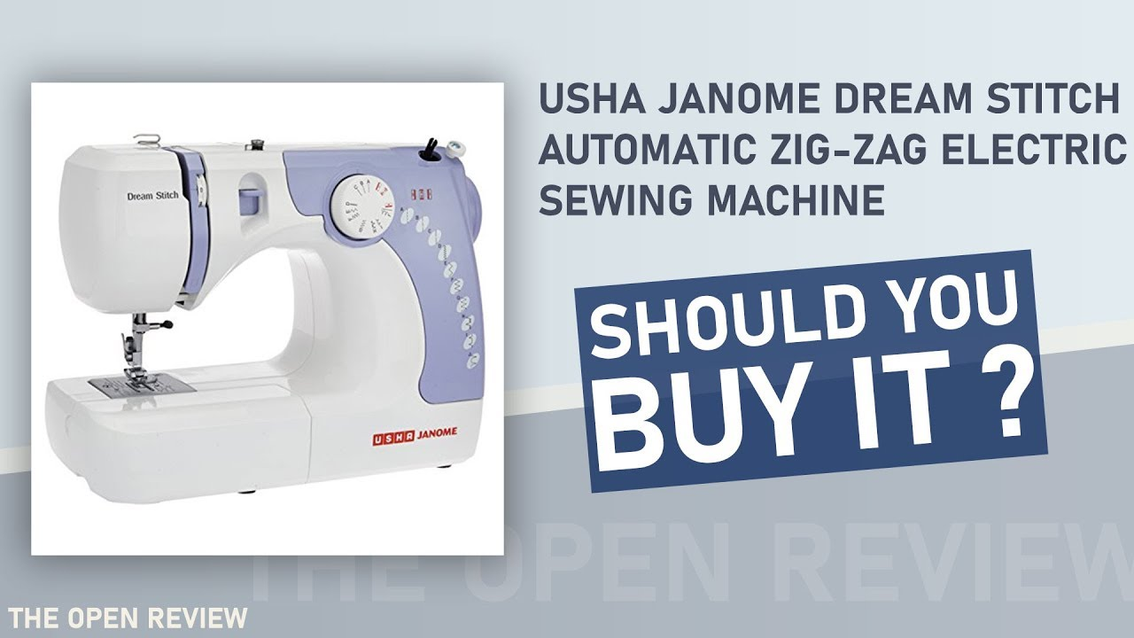 Usha Janome Dream  | Best Sewing Machine in India