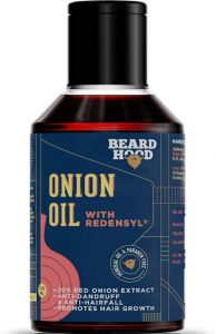 Beardhood Onion Oil with Redensyl for Hair | Best Hair Oil for Men in India