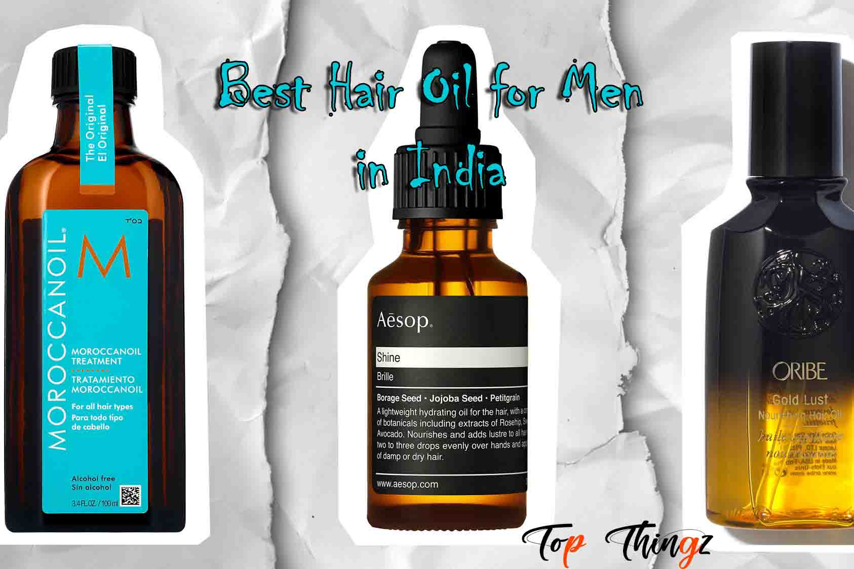 Best Hair Oil for Men in India