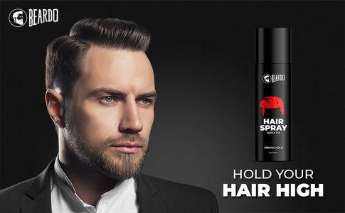 Beardo Strong Hold Hair Spray| Best Hair Spray for Men