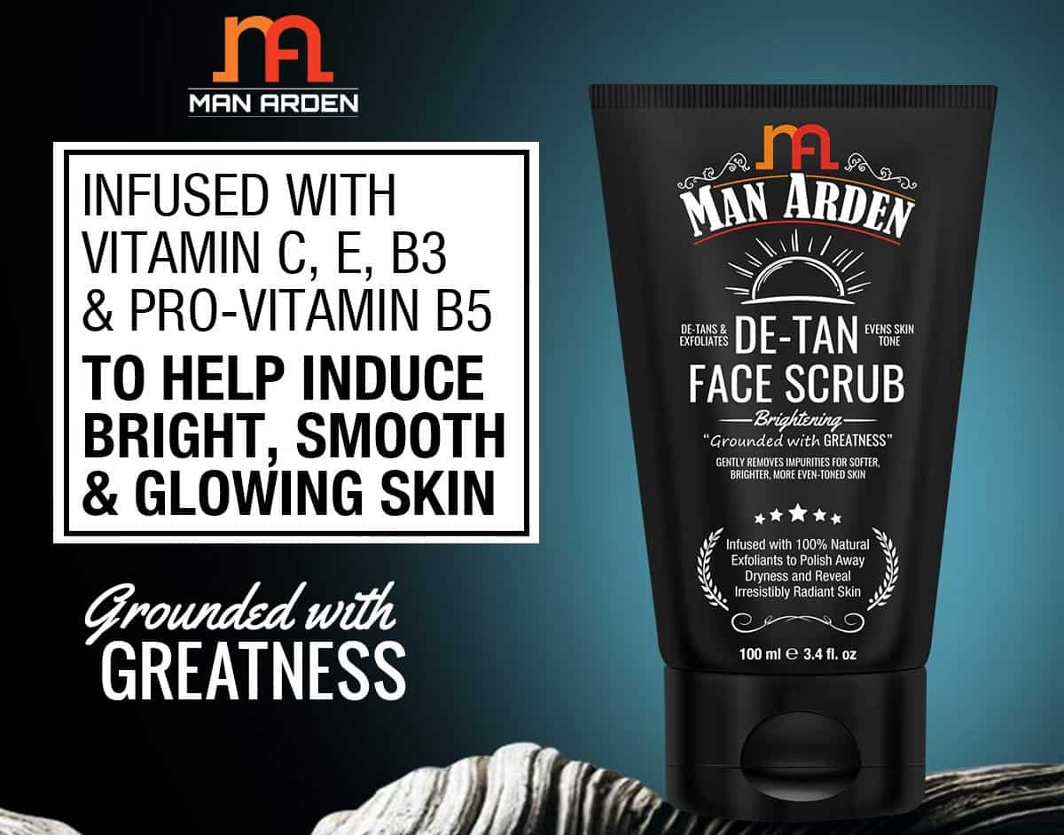 Man Arden Face Scrub | Best Face Scrub for Men