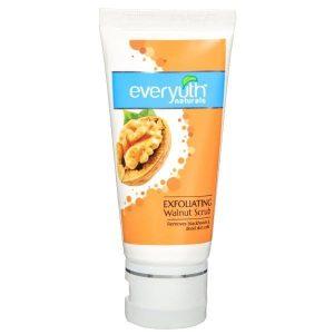 Everyuth Naturals Exfoliating Walnut Scrub | Best Face Scrub for Men