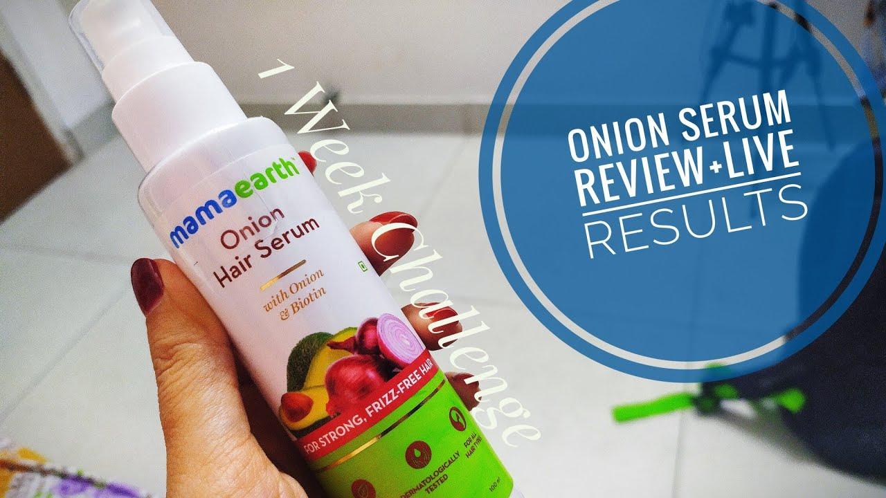 Mamaearth Onion Hair Serum | Best Hair Serum for Women