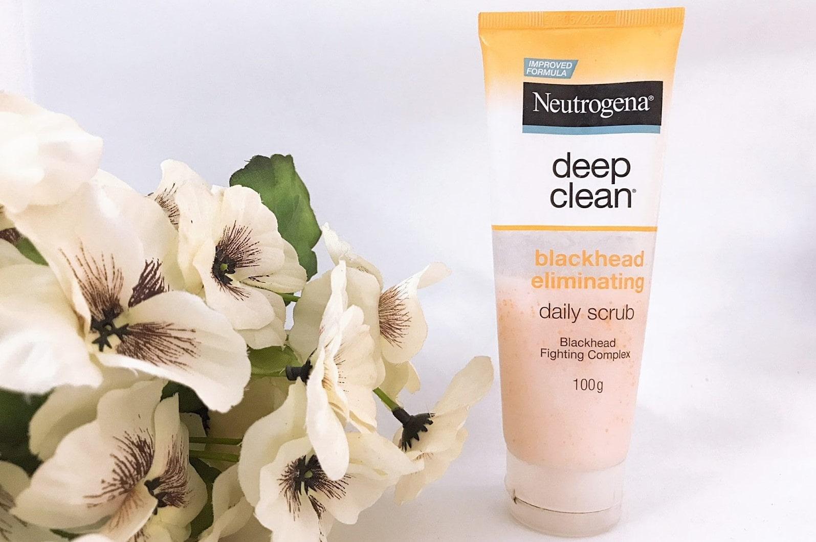Neutrogena Deep Clean Blackhead Eliminating Daily Scrub | Best Face Scrub for Men
