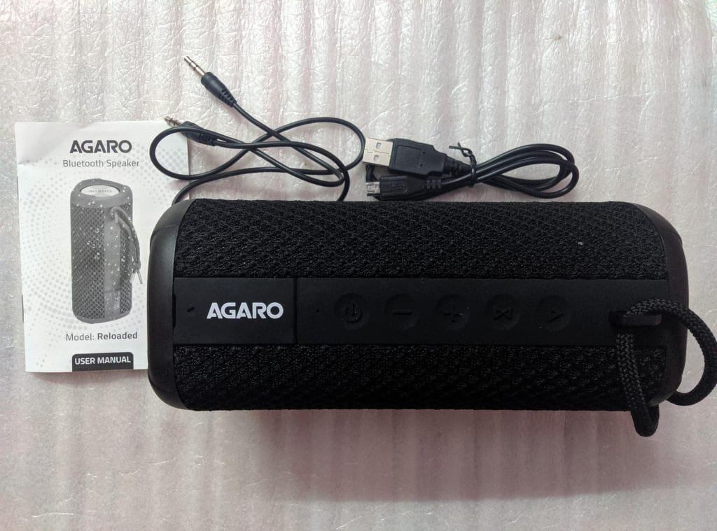 AGARO Reloaded  | Best Bluetooth Speakers under 3000