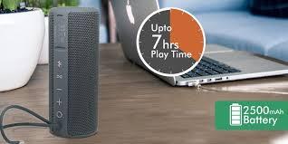 Portronics Breeze Plus    Best Bluetooth Speakers under 3000