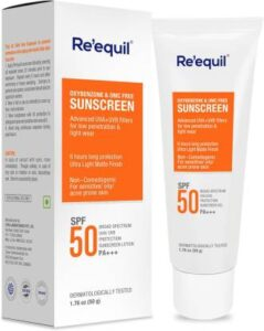 RE' EQUIL | Best Sunscreen in India