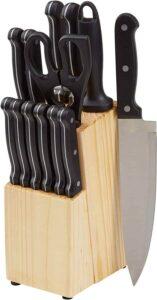 AmazonBasics Knife Set | Best Kitchen Knife Set in India