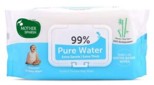 Mother Sparsh baby Wipes | Best Unscented Pure Water Baby Wipes