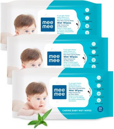 Mee Mee | Best Unscented Pure Water Baby Wipes
