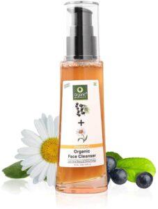 Organic Harvest Skin Illuminate Vitamin C Cleanser   Best Organic Face Wash in India