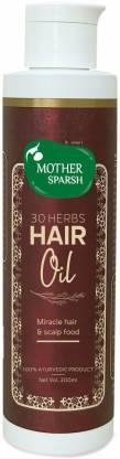 Mother Sparsh 30 Herbs Hair Oil | Best Ayurvedic Hair Oil in India