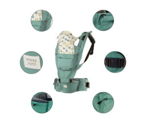 Polka Pots Baby Carrier | Best Baby Carrier in India