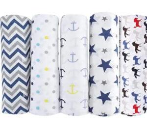 Best Baby Muslin Swadde Blankets