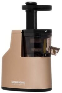 Redmond Cold-Pressing System Plastic and Stainless Steel Slow Juicer