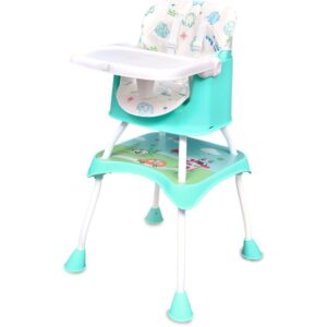 R for Rabbit Cherry Berry Grand Baby High chair | Best High Chair for Babies India