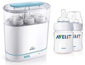 Philips Avent 3-in-1 Electric Steam Sterilizer | Best Baby Bottle Sterilizer India