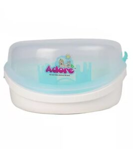 Adore Baby Bottle Microwave Steam | Best Baby Bottle Sterilizer India