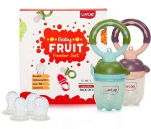 LuvLap Baby Food and Fruit Feeder