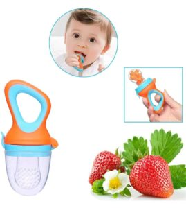 A Baby Cherry - Baby Fruit and Vegetable Feeder Pacifier | Best Baby Food Nibbler