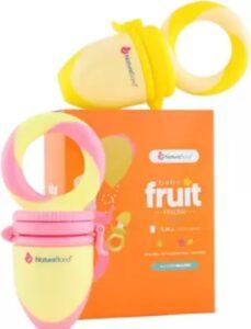 NatureBond Baby Food and Fruit Nibbler Pacifier Teether | Best Baby Food Nibbler