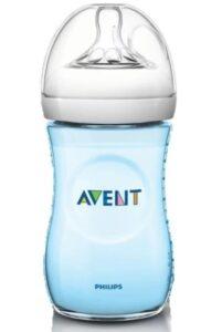 Philips Avent Natural 2. 0 Blue Feeding Bottle   Best Baby Feeding Bottles in India
