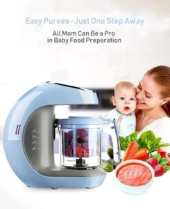 Kiddale 5-in-1 Smart Baby Food Processor   Best Baby Food Processor in India